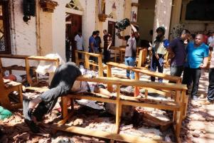 Multiple blasts in Sri Lanka